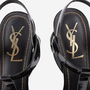 Authentic Second Hand Yves Saint Laurent Patent Tribute Sandals (PSS-A82-00014) - Thumbnail 8