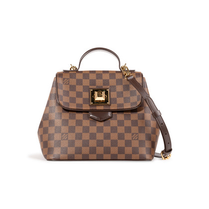 Authentic Second Hand Louis Vuitton Damier Bergano PM Bag (PSS-A97-00001)