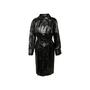 Authentic Second Hand Yves Saint Laurent PVC Trench Coat (PSS-617-00086) - Thumbnail 0