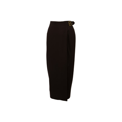 Authentic Second Hand Gucci Wool Wrap Skirt (PSS-181-00044)