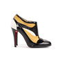 Authentic Second Hand Christian Louboutin JS 100 Patchwork Booties (PSS-B05-00007) - Thumbnail 1
