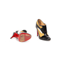 Authentic Second Hand Christian Louboutin JS 100 Patchwork Booties (PSS-B05-00007) - Thumbnail 5
