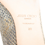 Authentic Second Hand Jimmy Choo Glitter Finlay Flats (PSS-393-00134) - Thumbnail 6