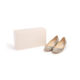 Authentic Second Hand Jimmy Choo Glitter Finlay Flats (PSS-393-00134) - Thumbnail 7