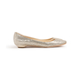 Authentic Second Hand Jimmy Choo Glitter Finlay Flats (PSS-393-00134) - Thumbnail 1