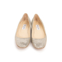 Authentic Second Hand Jimmy Choo Glitter Finlay Flats (PSS-393-00134) - Thumbnail 0