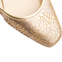 Authentic Second Hand Jimmy Choo Glitter Maya Flats (PSS-393-00136) - Thumbnail 8