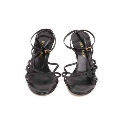 Authentic Second Hand Judith Leiber Strappy Slingback Sandals (PSS-393-00139)