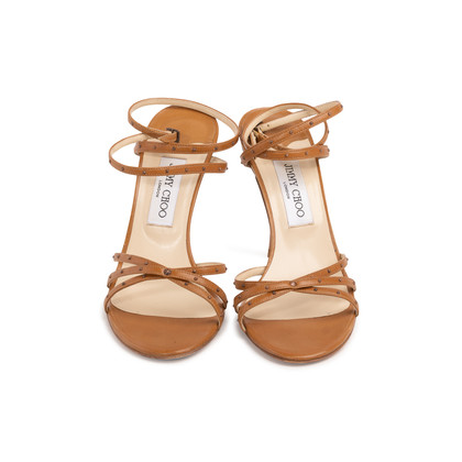 Authentic Second Hand Jimmy Choo Jackie 100 Sandals (PSS-393-00141)