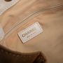 Authentic Second Hand Chanel Stitched Logo Canvas Bag (PSS-A99-00003) - Thumbnail 4