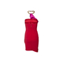 Authentic Second Hand Elisabetta Franchi For Celyn B. Satin Ruched Mini Dress (PSS-B03-00002) - Thumbnail 1