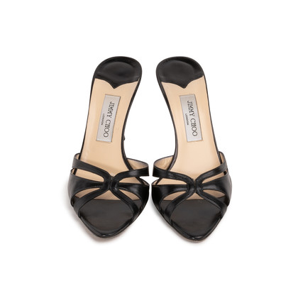 Authentic Second Hand Jimmy Choo Tacco 85 Sandals (PSS-393-00132)