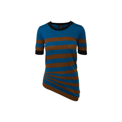 Authentic Second Hand Louis Vuitton Striped Knit Top (PSS-845-00134)