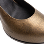 Authentic Second Hand Yves Saint Laurent Metallic Leather Tribtoo Pumps (PSS-064-00004) - Thumbnail 7
