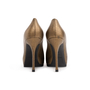 Authentic Second Hand Yves Saint Laurent Metallic Leather Tribtoo Pumps (PSS-064-00004) - Thumbnail 2