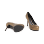 Authentic Second Hand Yves Saint Laurent Metallic Leather Tribtoo Pumps (PSS-064-00004) - Thumbnail 5
