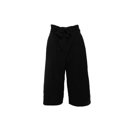 Authentic Second Hand Shanghai Tang Belted 3/4 Pants (PSS-B01-00006)