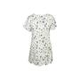 Authentic Second Hand Maison Kitsuné Printed Pleated Hem Dress (PSS-033-00016) - Thumbnail 1