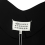 Authentic Second Hand Maison Martin Margiela Long-Sleeved Overlap Drape Dress (PSS-033-00018) - Thumbnail 2