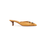 Authentic Second Hand Yves Saint Laurent Leather Siena Mule (PSS-A26-00095) - Thumbnail 1