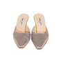 Authentic Second Hand Jimmy Choo Satin Slip On Pumps (PSS-A26-00093) - Thumbnail 0