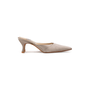 Authentic Second Hand Jimmy Choo Satin Slip On Pumps (PSS-A26-00093) - Thumbnail 1