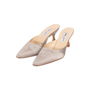 Authentic Second Hand Jimmy Choo Satin Slip On Pumps (PSS-A26-00093) - Thumbnail 3