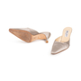Authentic Second Hand Jimmy Choo Satin Slip On Pumps (PSS-A26-00093) - Thumbnail 4