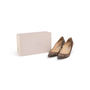 Authentic Second Hand Jimmy Choo Suede and Patent Pumps (PSS-A26-00096) - Thumbnail 6