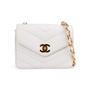 Authentic Second Hand Chanel Chevron Quilt Envelope Flap Bag (TFC-852-00028) - Thumbnail 0