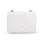 Authentic Second Hand Chanel Chevron Quilt Envelope Flap Bag (TFC-852-00028) - Thumbnail 2