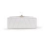 Authentic Second Hand Chanel Chevron Quilt Envelope Flap Bag (TFC-852-00028) - Thumbnail 3