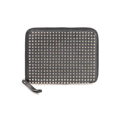 Authentic Second Hand Christian Louboutin Cris Spikes IPad Case (PSS-393-00158)