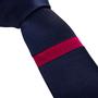 Authentic Second Hand Jil Sander Single Stripe Skinny Tie (PSS-393-00169) - Thumbnail 3