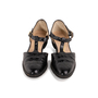 Authentic Second Hand Salvatore Ferragamo Crocodile Embossed T-Strap Mary Janes (PSS-637-00143) - Thumbnail 0