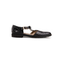 Authentic Second Hand Salvatore Ferragamo Crocodile Embossed T-Strap Mary Janes (PSS-637-00143) - Thumbnail 1
