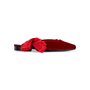 Authentic Second Hand MR by Man Repeller The Morning After Velvet Flats (PSS-637-00144) - Thumbnail 1