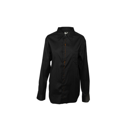 Authentic Second Hand Matsuda Contrast Cotton Shirt (PSS-393-00171)