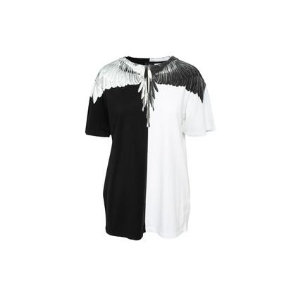 Authentic Second Hand Marcelo Burlon Wings Print T-shirt (PSS-393-00178)