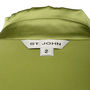 Authentic Second Hand St. John Ruffle Button-up Silk Top (PSS-B07-00003) - Thumbnail 2