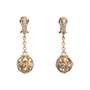 Authentic Second Hand Judith Ripka Gold Ball Dangle Earrings (PSS-634-00016) - Thumbnail 0