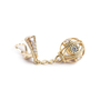 Authentic Second Hand Judith Ripka Gold Ball Dangle Earrings (PSS-634-00016) - Thumbnail 5