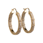 Authentic Second Hand Judith Ripka Cubic Zirconia Baby Hoops (PSS-634-00014) - Thumbnail 1