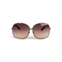 Authentic Second Hand Gucci Oversized Round Sunglasses (PSS-796-00013) - Thumbnail 1