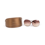 Authentic Second Hand Gucci Oversized Round Sunglasses (PSS-796-00013) - Thumbnail 8