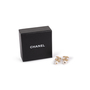 Authentic Second Hand Chanel Pearl Dangle Logo Earrings (PSS-A09-00040) - Thumbnail 6
