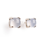 Authentic Second Hand Tiffany & Co Sugar Stacks Blue Chalcedony Earrings (PSS-A09-00042) - Thumbnail 1
