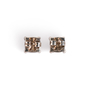 Authentic Second Hand Tiffany & Co Sugar Stacks Blue Chalcedony Earrings (PSS-A09-00042) - Thumbnail 2