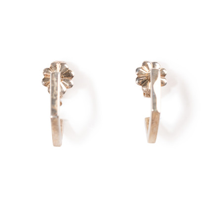 Authentic Second Hand Tiffany & Co Frank Gehry Torque Hoop Earrings (PSS-A09-00045)