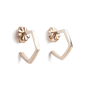 Authentic Second Hand Tiffany & Co Frank Gehry Torque Hoop Earrings (PSS-A09-00045) - Thumbnail 1